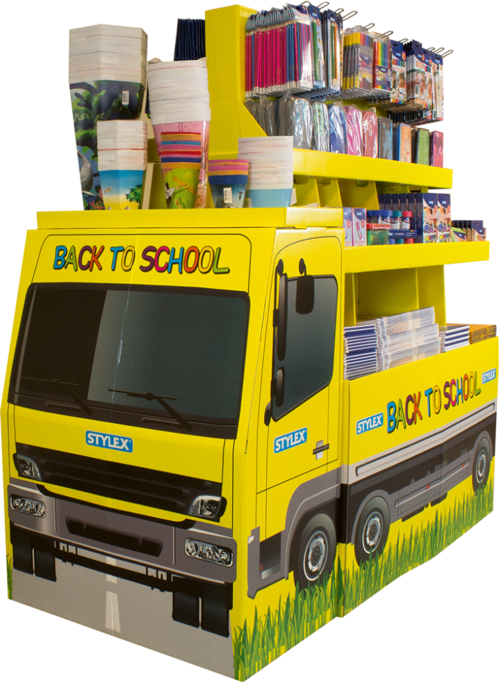 Back To School truck